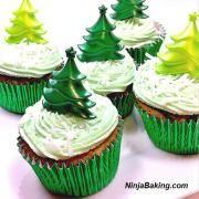Midori Melon Cupcakes & Frosting