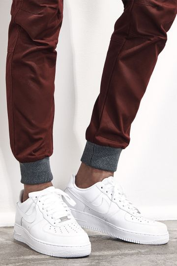 nike air force 1 low comfort-luxe™ super 100s italian wool pleated pants
