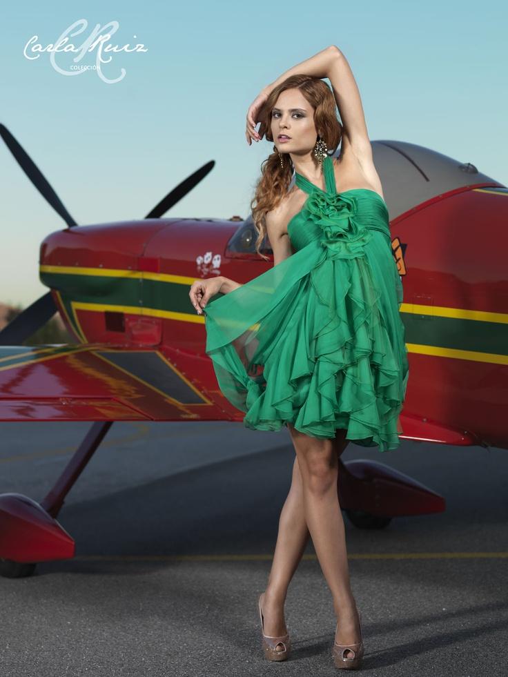 Vestido de Cocktail de Carla Ruiz 2012 - Modelo 86068