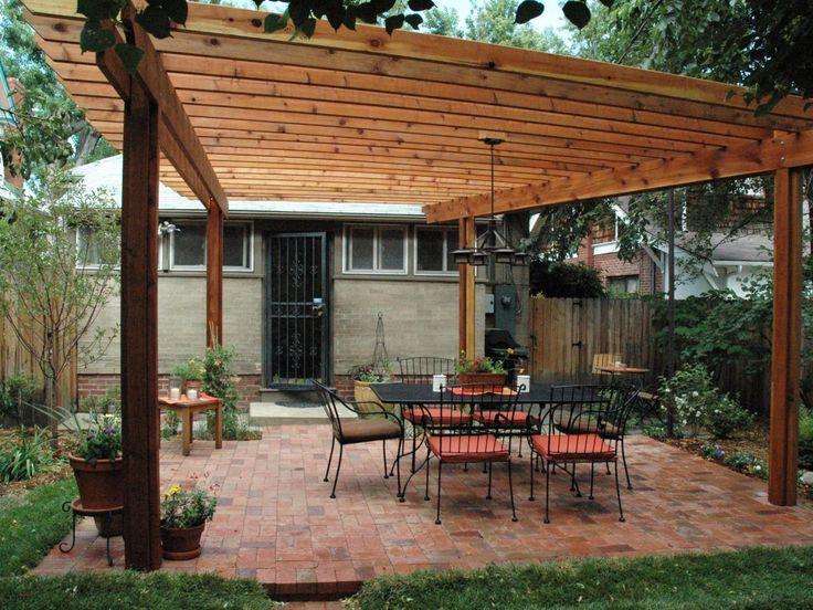 8 best patio covers images on pinterest | cedar pergola, covered ... - Pergola Patio Cover Ideas
