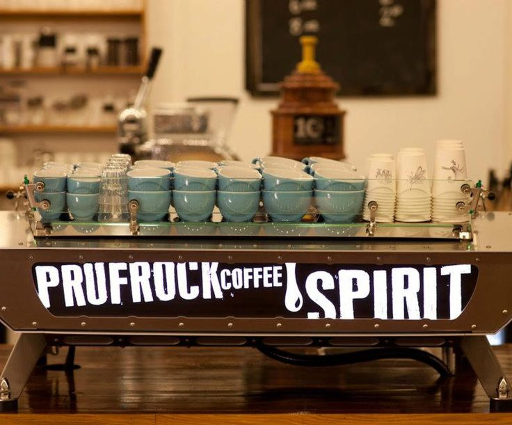 Prufrock boast coffee of the highest quality and don't disappoint. #oldstnewcoffee #oldstnewrules