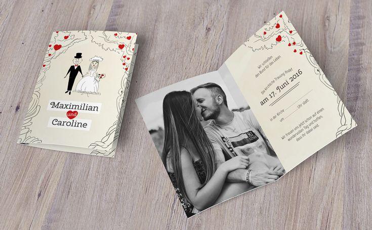 Du möchtest deine eigene #Trauung verkünden, zur #Hochzeit von Verwandten, Freunden oder sonstigen Auftraggebern laden oder die Feier zu einem Ehe-#Jubiläum ankündigen? Diese #Einladungen werden diesen Rahmenbedingungen mehr als gerecht.   #design #vorlage #download #template #plakat #karte #liebe #verliebt #kreativ #love #valentin #valentinstag #valentines #herz #romantik #geschenk #heart #gitideas #hochzeit