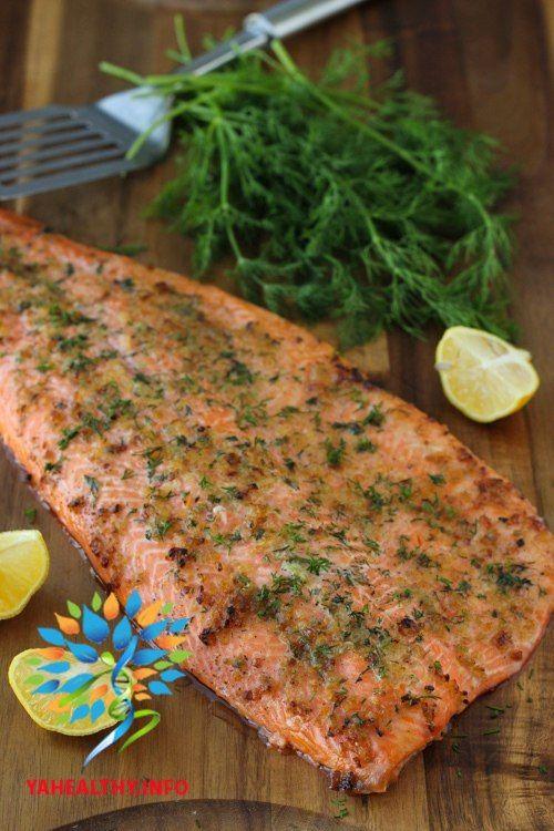 Запеченная форель: супер-питательный ужин!  на 100грамм - 153.64 ккалБ/Ж/У - 13.36/10.46/1.39  Все рецепты здесь : https://vk.com/intells_pro #рыба
