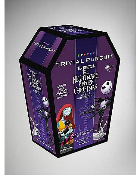 'Nightmare Before Christmas' Trivial Pursuit Game - Spencer's