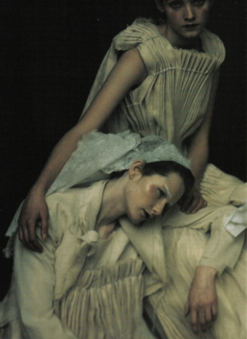 shot by paolo roversi for vogue italia