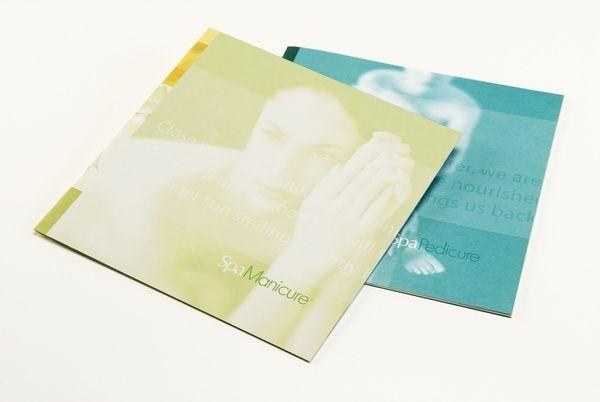 Beautiful brochure by Miriello Grafico: Creative Spa