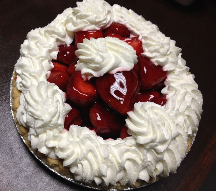 Strawberry Pie from House of Pies Restaurant & Bakery   3112 Kirby Dr, Houston, TX