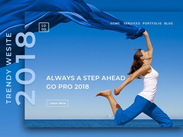 Free Web Design Template - Step Ahead