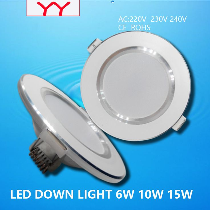 Cheap lamp rack, Buy Quality light cove directly from China lamp accessories Suppliers: 10pcs/lot Led Downlights  6W 10W 15W 220V LED Ceiling Downlight 2835 Lamps Led Ceiling Lamp Home Indoor Lighting