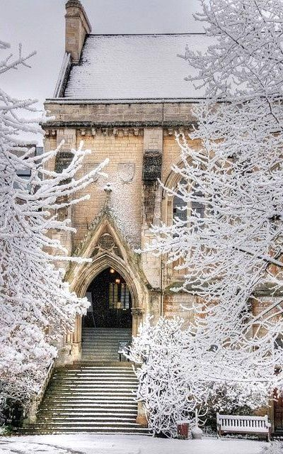 Places That Are Even Better During The Winter Balliol College - Oxford, England - Inspiration for Darpan, Nandala in Kiss of the Assassin by Jayla Jasso