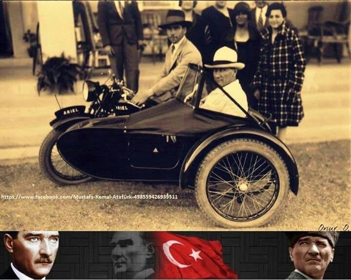 Atatürk'ün daha önce yayınlamamış bir fotoğrafı.