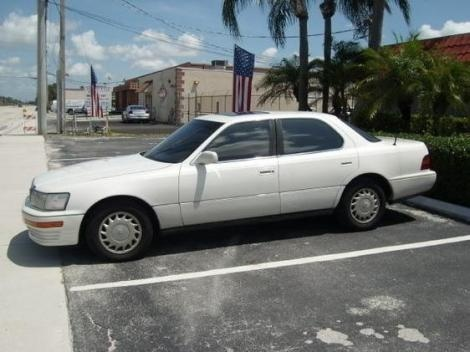 Used Lexus LS 400  year 1991 for sale in Florida for only $2990 at http://www.autopten.com/cheap-cars-for-sale-3145-used-Lexus-LS 400.htm