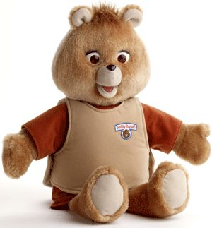 I wonder if you remember this one? Teddy Ruxpin none the less.