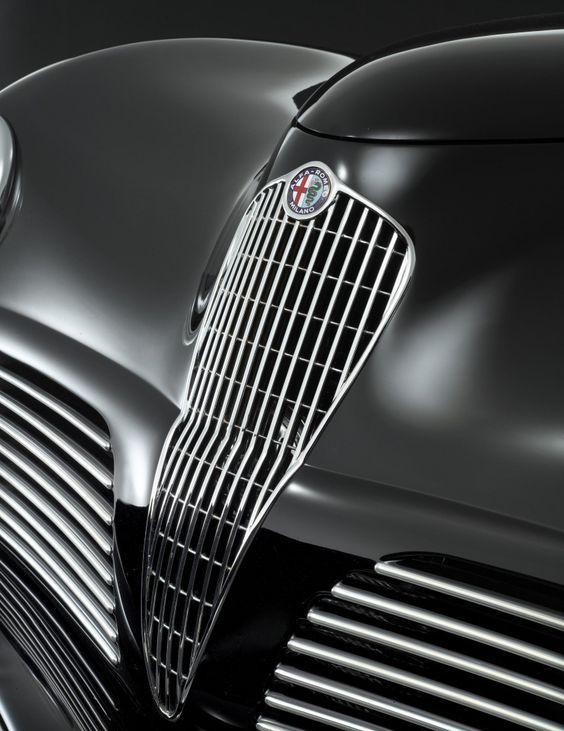 Alfa Romeo 6C 2500 SS Coupé by Bertone (1942)
