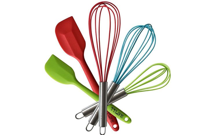 TTLife Silicone Cooking Utensils Set https://www.prevention.com/food/best-gifts-for-egg-lovers/slide/2