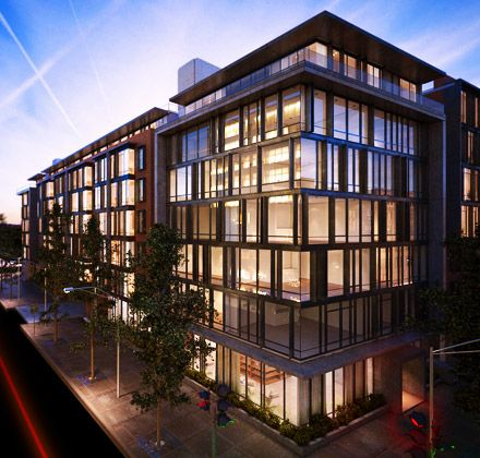 342 best facade images on pinterest contemporary for Modern condo building design
