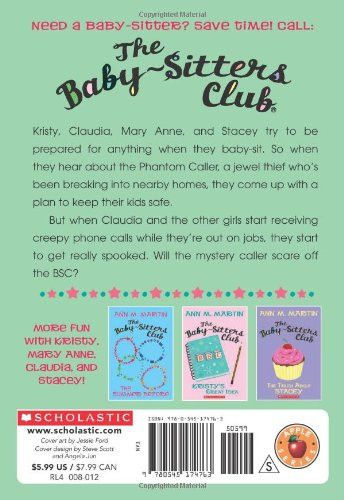 Claudia and the Phantom Phone Calls (The Baby-Sitters Club, No.2)