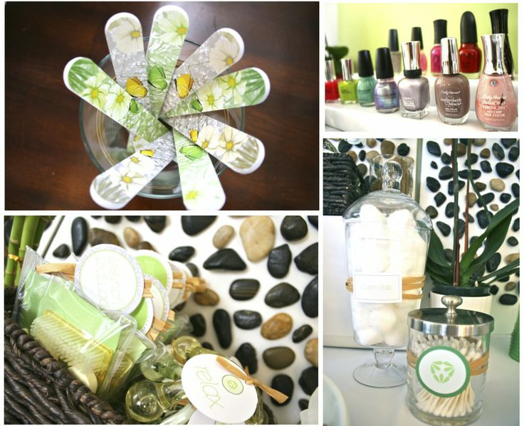 79 Best Baby Showers Spa Party Images On Pinterest Shower Ideas