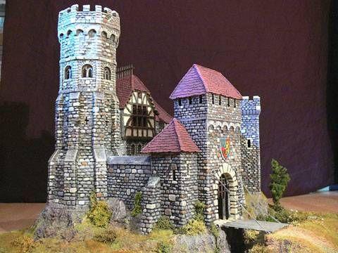 Castillo Breton - Escala 28mm