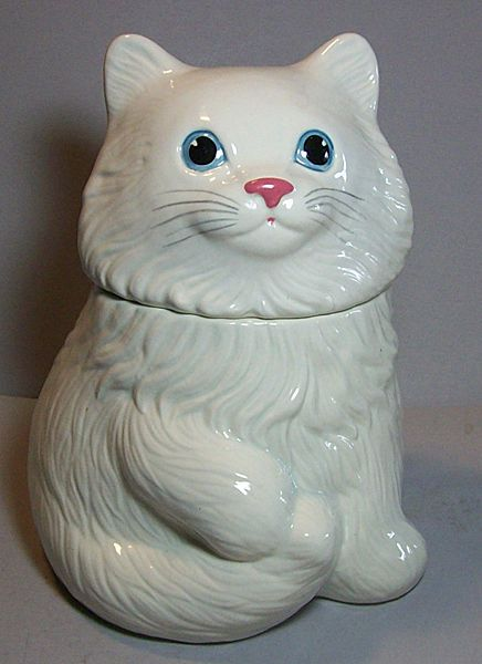 78 Best Images About Cute Cat Cookie Jars On Pinterest
