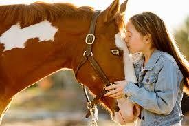 Znalezione obrazy dla zapytania posing with horse