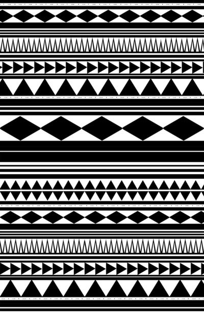 Geometric Tribal Shapes We Can Duplicate In Carib Colors
