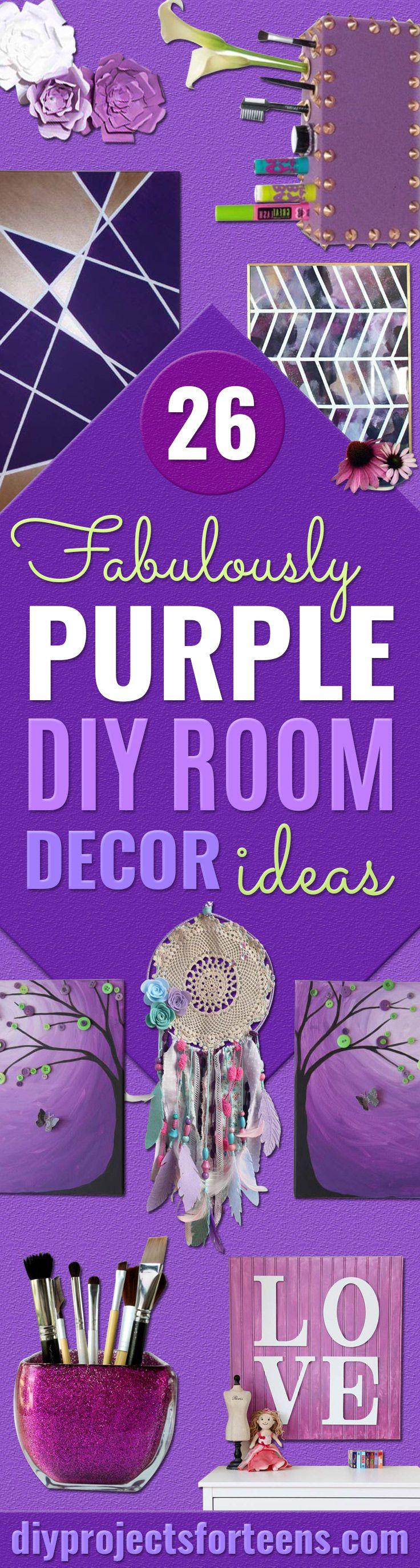 Purple Bedroom Decor 17 Best Ideas About Purple Room Decorations On Pinterest