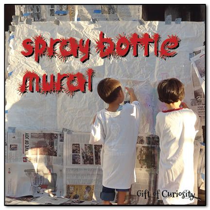 Best 25 spray bottle ideas on pinterest essential oil for Arts and crafts mural