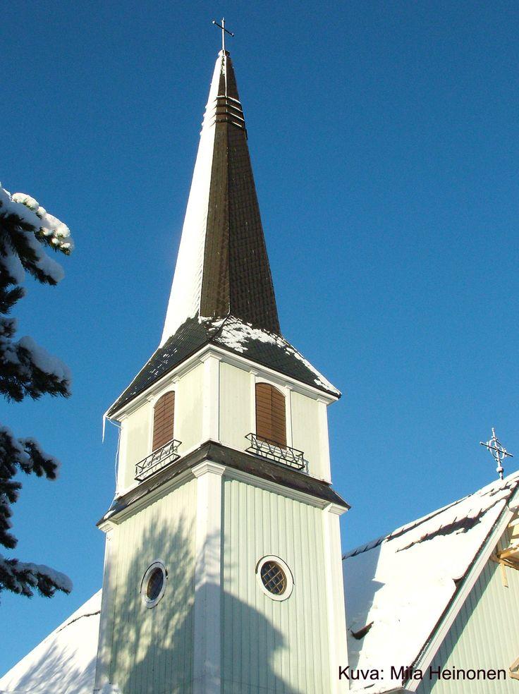 Riihimäen keskuskirkko, Hämeenkatu 5, Riihimäki. Kuva: Miia Heinonen