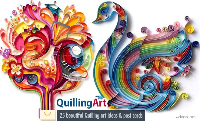 25 Beautiful Quilling Flower Designs and Paper Quilling Cards. Read full article: http://webneel.com/paper-quilling-cards-design-flower-art | more http://webneel.com/drawings | Follow us www.pinterest.com/webneel