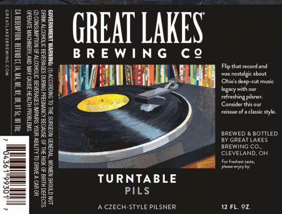 Great Lakes Turntable Pils now year-round, Grandes Lagos Lager kicks off new 2017 seasonals - #craftbeer