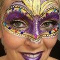 Maschere di Carnevale con il make up! 13 idee da copiare