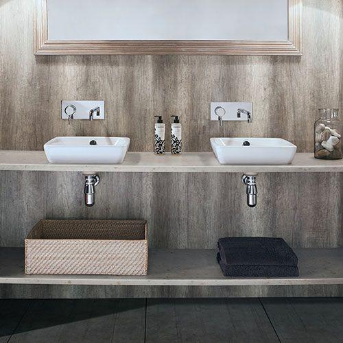 Ivory Marble Nuance Bushboard Waterproof Shower Board Only Bathroom Wall Panels Laminate Wall Shower Remodel