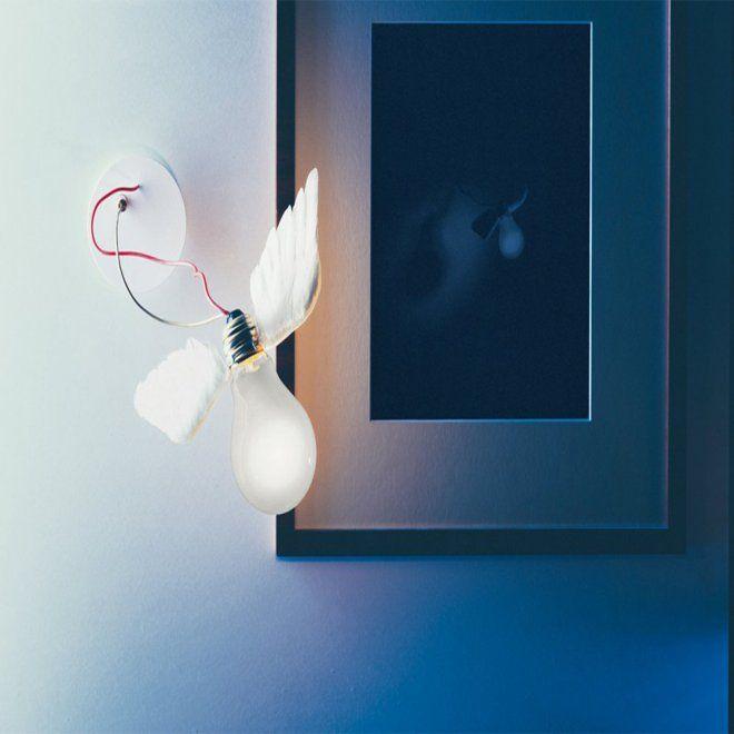 Applique design signée Ingo Maurer - Marie Claire Maison