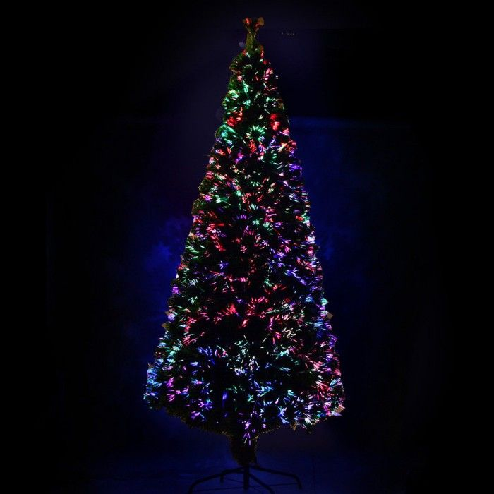 Fiber Optic LED Christmas Tree - 240cm
