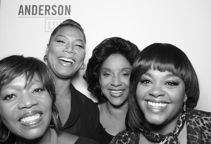 The Cast of the re-make of Steel Magnolia's - Alfre Woodard, Queen Latifah, Phylicia Rashad and Jill Scott - currently airing on the Lifetime Network