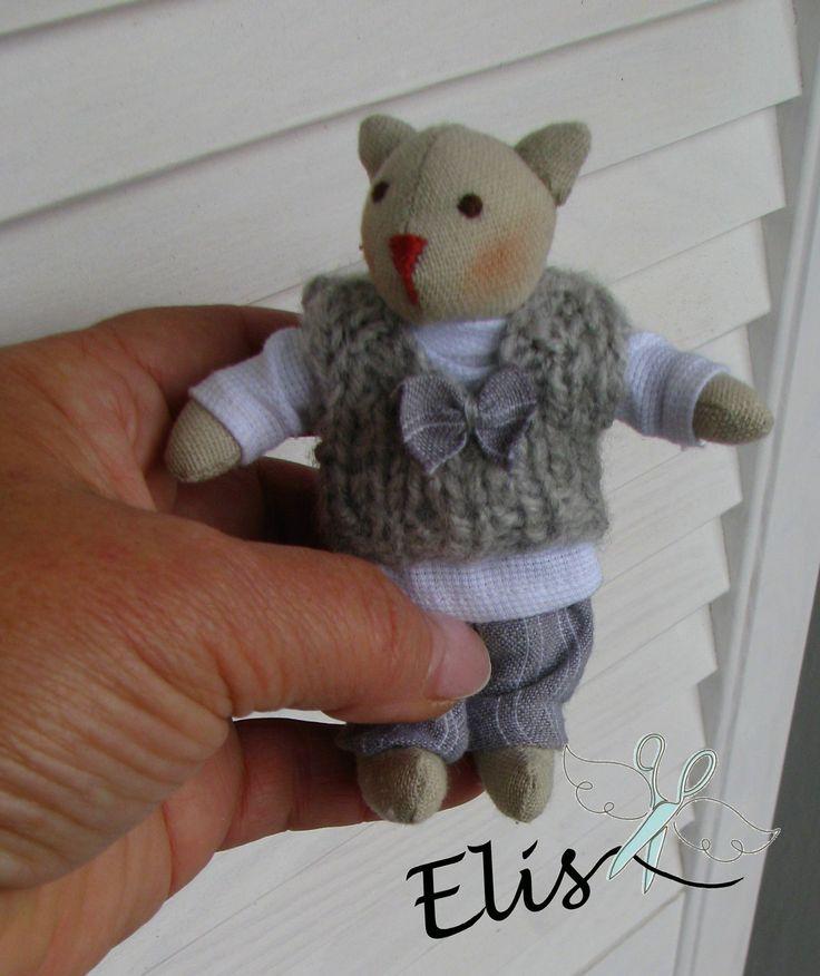 http://polandhandmade.pl   #polandhandmade , #doll , #cat