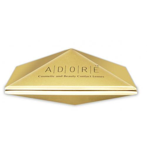 Οι έγχρωμοι φακοί επαφής Adore είναι σχεδιασμένοι για άτομα που επιθυμούν να τολμήσουν μια εντυπωσιακή αλλαγή στο χρώμα των ματιών τους.Μια συλλογή σχεδιασμένη με ιδιαίτερη προσοχή στη λεπτομέρεια που συνδυάζει την άνεση και την κομψότητα. Μοναδική άνεση και ευκολία στην χρήση!