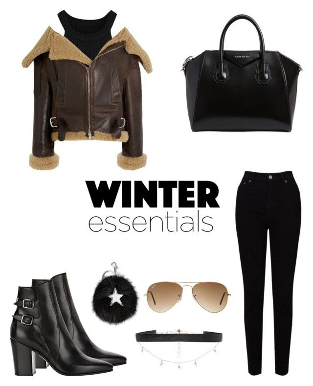 """🌬"" by parisianights on Polyvore featuring moda, Balenciaga, EAST, Yves Saint Laurent, Givenchy, Diane Kordas, STELLA McCARTNEY ve Ray-Ban"