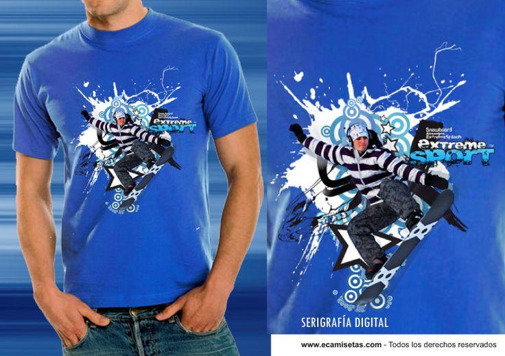 Serigrafía Digital - Serigrafía Camisetas - Impresión Textil
