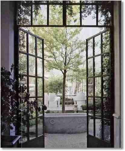 mampara , vidrio repartido , estilo antiguo ,trb a medida