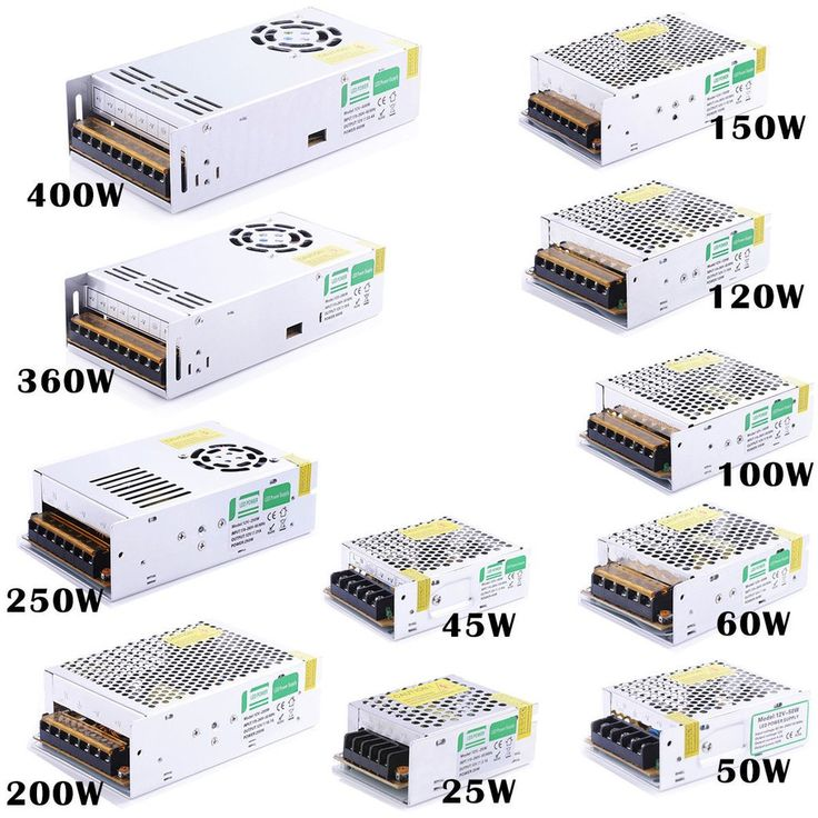 Led power supply low voltage transformer controller all
