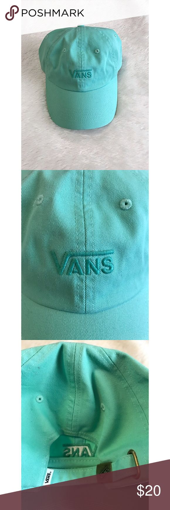 Mint Vans Hat ☀️ New without tags, never worn. Great for summer ☀️ Vans Accessories Hats
