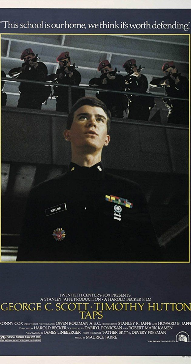 Directed by Harold Becker. With George C. Scott, Timothy Hutton, Ronny Cox, Sean Penn. Military cadets take extreme measures to insure the future of their academy when its existence is threatened by local condo developers.