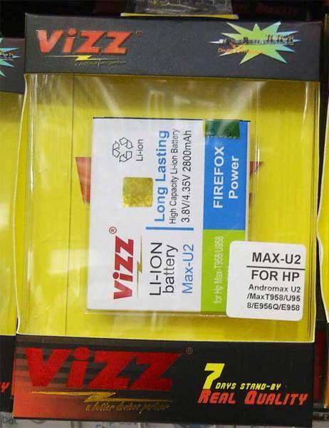 Vizz Andromax U2 2800 mAh - Garansi 3 Bulan VIZZ