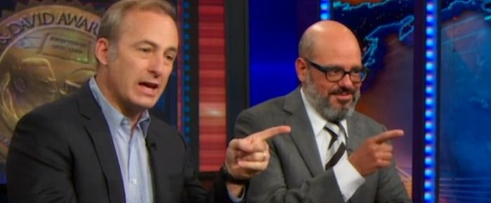 Watch Bob Odenkirk and David Cross spend a hilarious nine minutes on The Daily Show