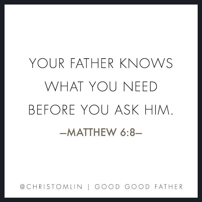 Chris Tomlin's Good Good Father is such a great song. Check out this post for the behind the song story!