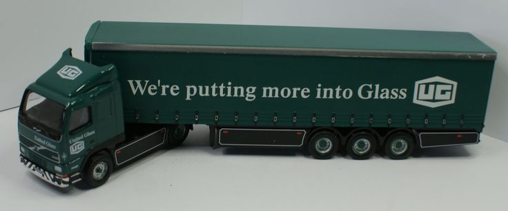 Volvo Curtinside United Glass (Eddie Stobart Ltd)