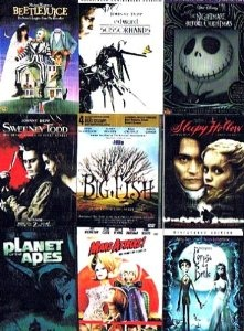 The Tim Burton movies collection