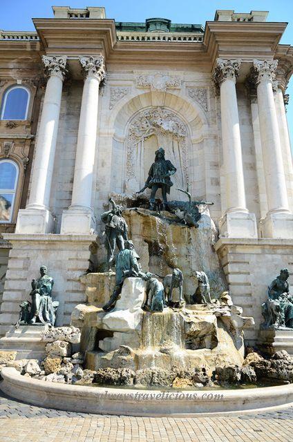 Buda Castle @ Budapest, Hungary